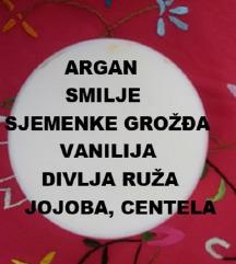 Krema argan, smilje, vanilija - antiage njega