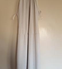 Bijela haljina sa srebrnim detaljima
