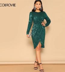 Nova zelena haljina S