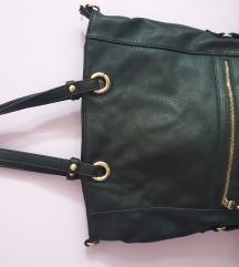 Crna kozna torba *pt ukljucena *