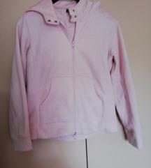 Topla sportska jakna bez podstave sa kapuljačom
