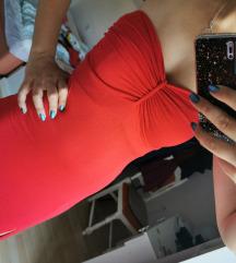 Crvena haljina(s, m) poštarina uključena