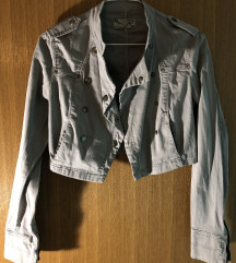 Siva kratka jaknica Trf
