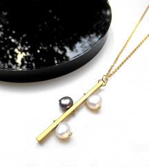 SNIŽENO-Mjedena ogrlica IRINA