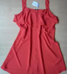 Nova Tezenis crvena haljina, L