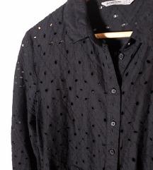STRADIVARIUS crna rupicasta haljina 🎀