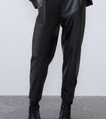 Nove Zara hlače od umjetne kože, s etiketom