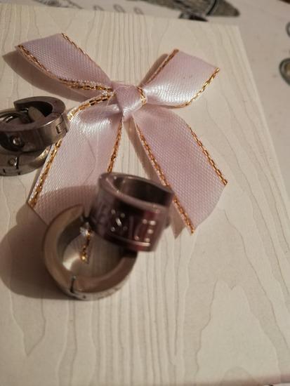 Versace naušnice kiruški čelik i jedne sa cirkonom