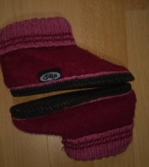 Papuče vunene
