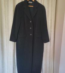 Cashmere kaput crni dugi