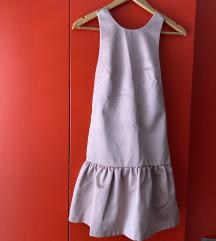 Nježno roza kratka haljina