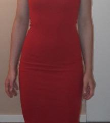 PULL&BEAR crvena haljina