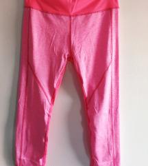 Pink fitness tajice