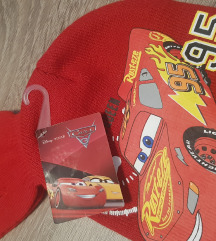 Komplet kapa i rukavice Auti, s etiketom