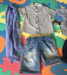 NOVO elegantni kompletic za djecake, br 86/92