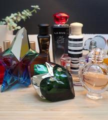 lot od 8 dizajnerskih parfema