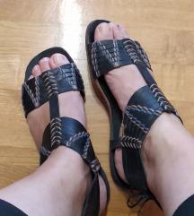 Kožne sandale Tabita