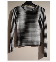 Majica prugice bijelo-crna veličina S