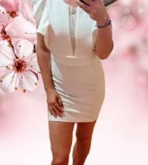 Bijela haljina sa volanima 🎀