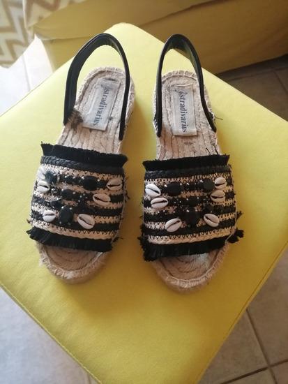 Ljetne sandale raffia