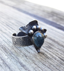 Prsten akvamarin