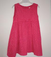 Samt haljina 98