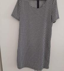 Crno bijela haljinica
