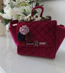 Roza torbica preko ramena