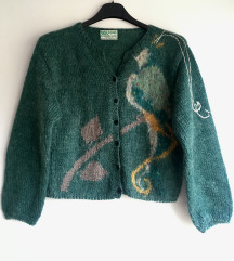 Vintage vuneni kardigan