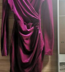 haljina plus crni remen