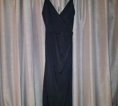 ASOS - NOVA crna haljina s izrezom