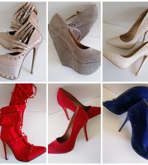 12 pari cipela - razne cijene