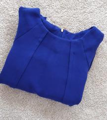 Tamnoplava Mango haljina