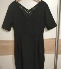 crna uska haljina