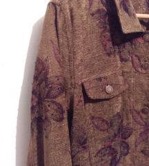 Vintage cvjetna jakna