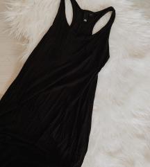 H&M crna haljina do poda za ljeto - NOVO