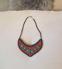 Nova Ornament statement ogrlica %%2+1 gratis :)🍃