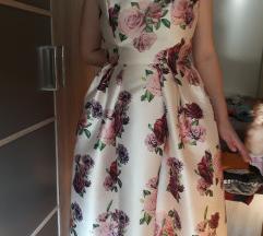 Predivna cvjetna haljina