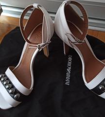Emporio Armani kožne sandale