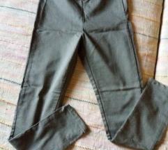 Maslinasto sive hlače,nove