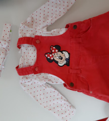 Minnie mouse c&a komplet 68