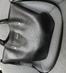 Furla crna kozna torba