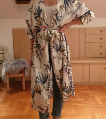 KIMONO haljina - cvjetni uzorak S