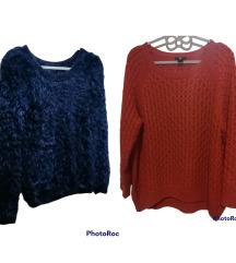Lot  2 pulovera L