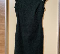 Smaragdno zelena Zara haljina / NOVO