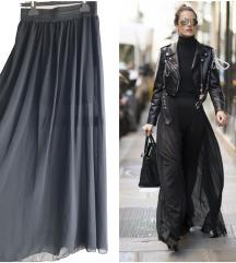 Crna duga maxi suknja 🖤