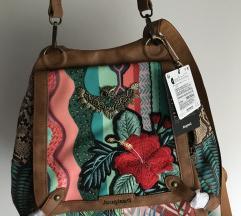 Desigual nova torba 2u1 &poklon torbica