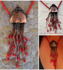 Jellyfish koraljna ogrlica, moguca narudzba slicne