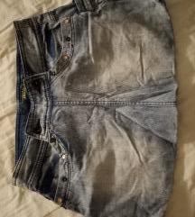 Kratka traper suknja