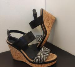 Sandale - platforme na pluto petu